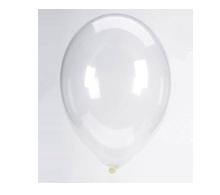 Balloon Latex Crystal Clear
