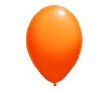 Balloon Latex Fashion Orange