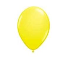 Balloon Latex Fashion Yellow