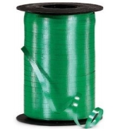 Curling Balloon Ribbon Green