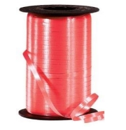 Curling Balloon Ribbon Red