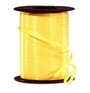 Curling Balloon Ribbon Yellow