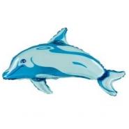 Foil Balloon Shape Dolphin