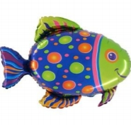 Foil Balloon Shape Fish
