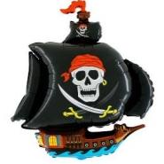 Foil Balloon Shape Pirate Ship