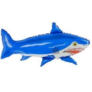 Foil Balloon Shape Shark