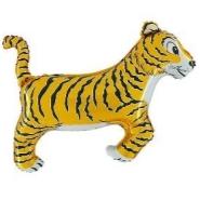 Foil Balloon Shape Tiger