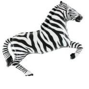 Foil Balloon Shape Zebra