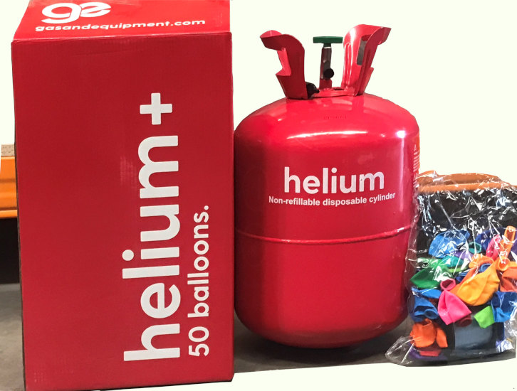 Helium Tank Disposable